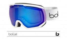 Bolle Northstar Prescription Ski Goggles - Matte Offwhite / Phantom+ Polarised Photochromic