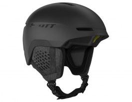 Scott Track Plus MIPS Ski Helmet - Black
