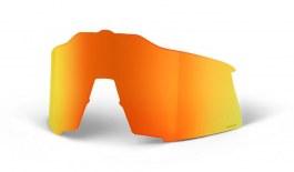 100% Speedcraft Replacement Lens Kit - HiPER Red Multilayer Mirror