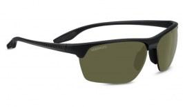 Serengeti Linosa Sunglasses - Satin Black / 555nm Polarised Photochromic