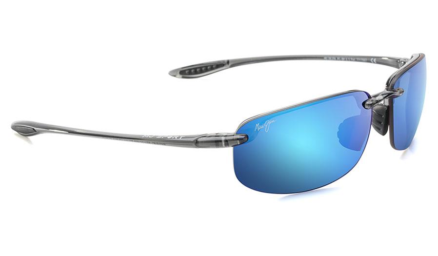Maui Jim Ho'okipa Sunglasses - Smoke Grey / Blue Hawaii Polarised