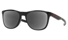 Oakley Trillbe X Prescription Sunglasses - Polished Black (Anodised Red Icon)