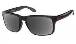 Oakley Holbrook XL Prescription Sunglasses - Black Ink (Anodised Red Icon)
