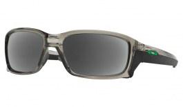 Oakley Straightlink Prescription Sunglasses - Grey Ink (Anodised Green Icon)