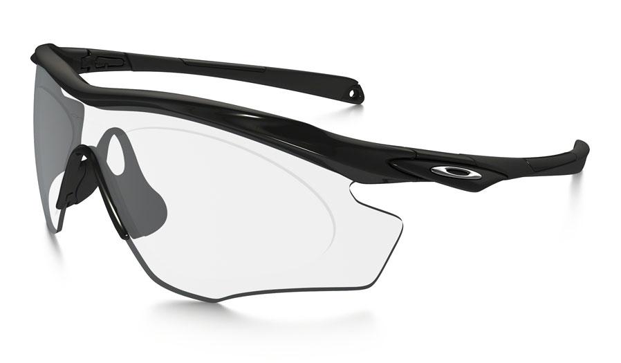 Oakley M2 Frame XL Prescription Sunglasses - Polished Black - RxSport