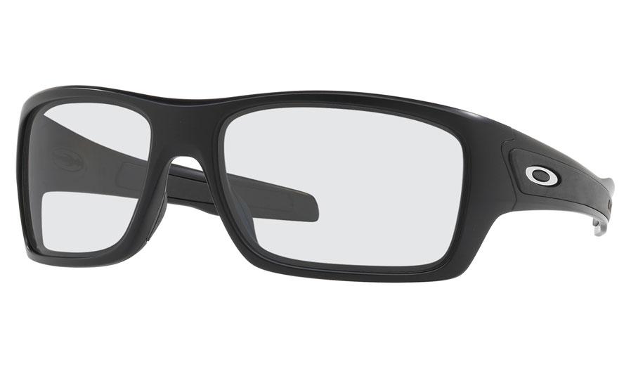 d50189a72245 Oakley Turbine Prescription Sunglasses - Matte Black (Satin Chrome ...