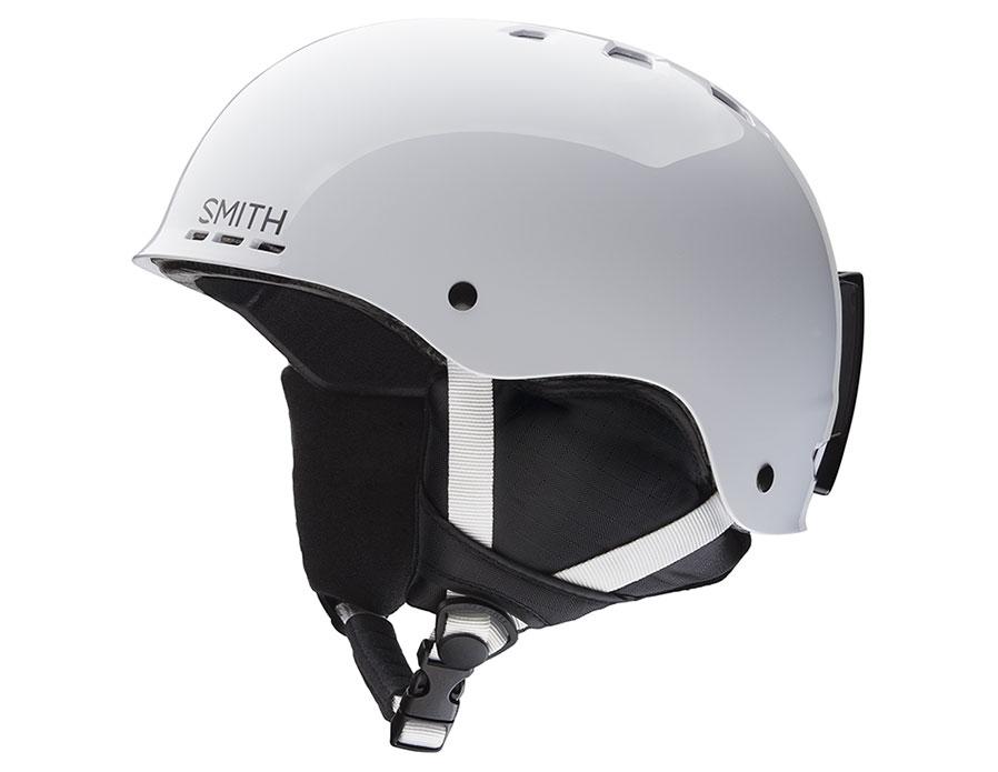 Smith Holt Junior Ski Helmet - White
