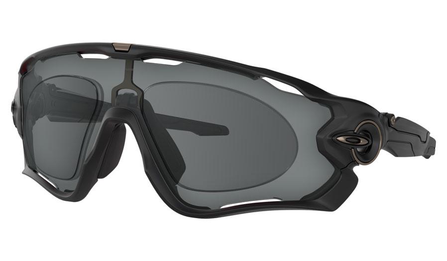Oakley Jawbreaker Prescription Sunglasses - Matte Black (Gunmetal Icon)