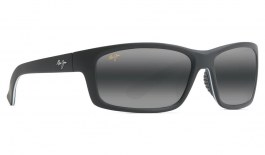 Maui Jim Kanaio Coast Prescription Sunglasses - Matte Soft Black & White