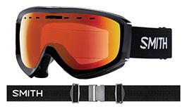 Smith Optics Prophecy Prescription Ski Goggles - Black / ChromaPop Everyday Red Mirror