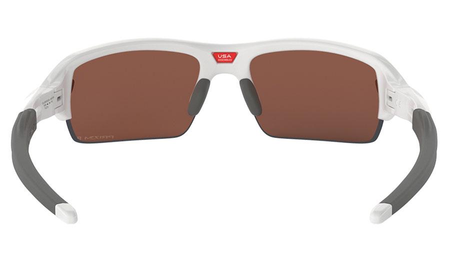 3a86ae527c 1. 2. 3. 4. PrevNext. Oakley Flak XS Sunglasses - Polished White   Prizm  Deep Water Polarised