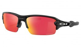 Oakley Flak XS Sunglasses - Polished Black / Prizm Field