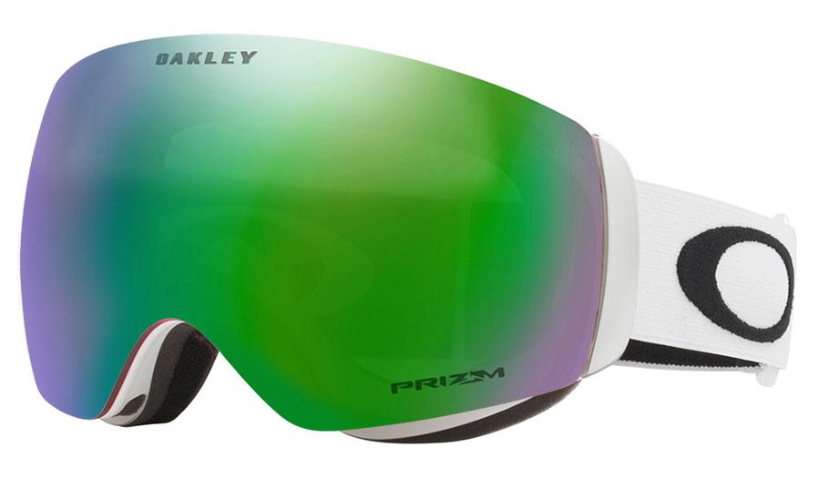 208f2dab121 Oakley Flight Deck XM Ski Goggles - Matte White   Prizm Jade Iridium ...