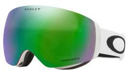 Oakley Flight Deck XM Ski Goggles - Matte White / Prizm Jade Iridium