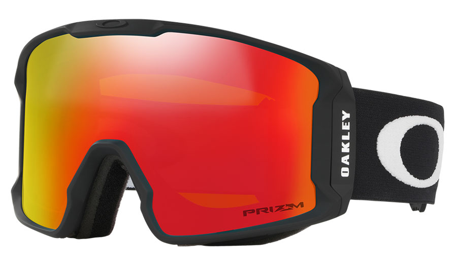 Oakley Line Miner XM Ski Goggles - Matte Black / Prizm Torch Iridium