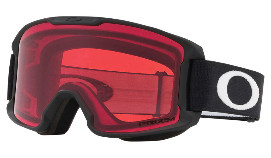 Oakley Line Miner Youth Ski Goggles - Matte Black	/ Prizm Rose