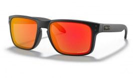Oakley Holbrook Sunglasses - Matte Black / Prizm Ruby