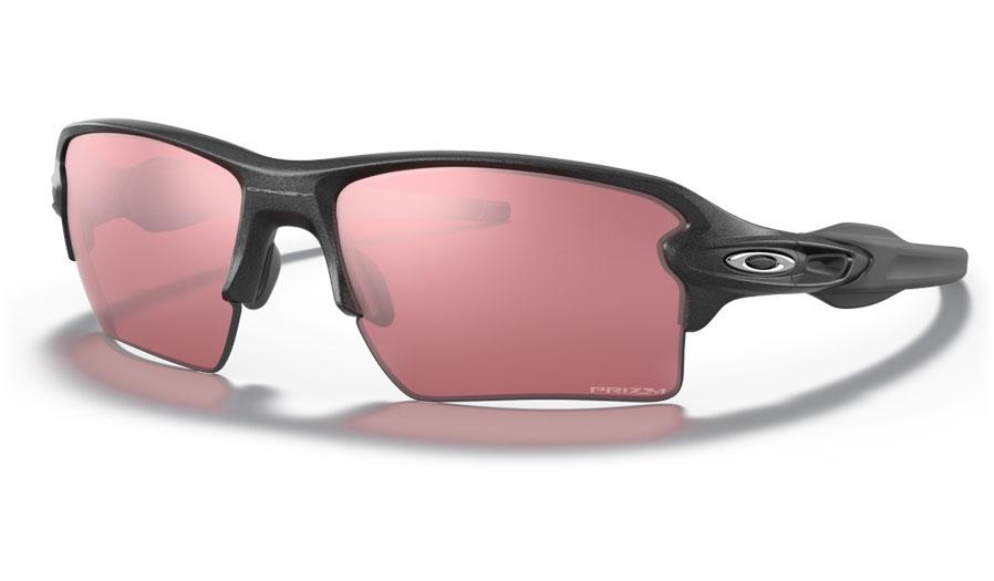 Oakley Flak 2.0 XL Sunglasses - Steel / Prizm Dark Golf