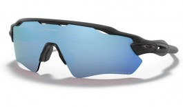 Oakley Radar EV Path Sunglasses - Matte Black / Prizm Deep Water Polarised
