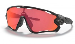 Oakley Jawbreaker Sunglasses - Matte Black / Prizm Trail Torch