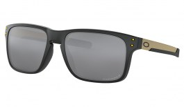 Oakley Holbrook Mix Sunglasses - Matte Black / Prizm Black Polarised