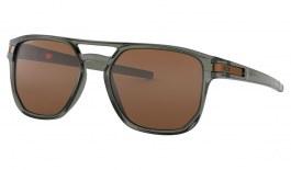 Oakley Latch Beta Sunglasses - Olive Ink / Prizm Tungsten