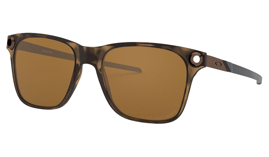 Oakley Apparition Sunglasses - Brown Tortoise / Tungsten Iridium Polarised