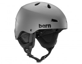 Bern Team Macon Ski Helmet - Matte Grey