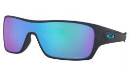 Oakley Turbine Rotor Sunglasses - Matte Translucent Blue / Prizm Sapphire