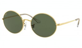 Ray-Ban RB1970 Oval Sunglasses - Legend Gold / Green