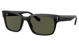Ray-Ban RB2190 Jeffrey Sunglasses - Black / Green