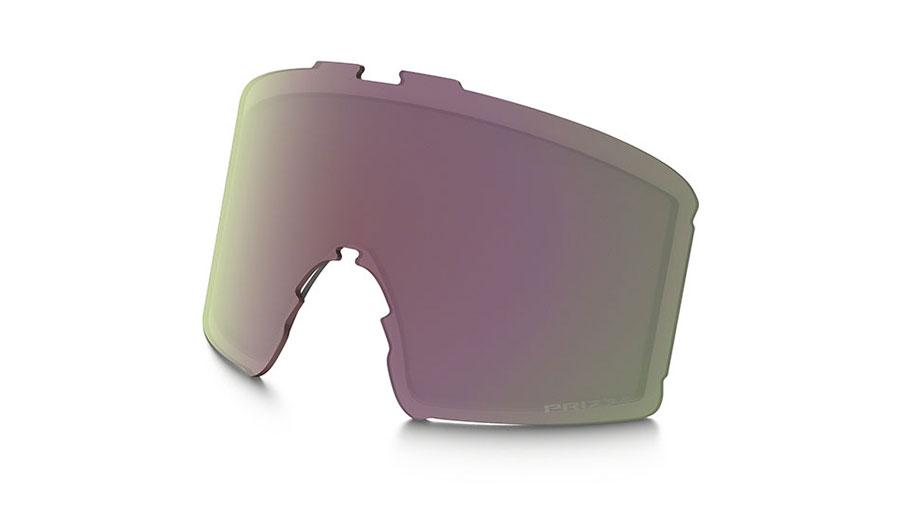 Oakley Line Miner Youth Ski Goggles Replacement Lens Kit - Prizm HI Pink Iridium
