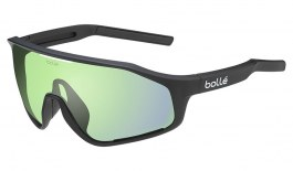 Bolle Shifter Sunglasses - Matte Black / Phantom Clear Green Photochromic