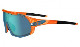 Tifosi Sledge Sunglasses - Crystal Orange / Clarion Blue + AC Red + Clear