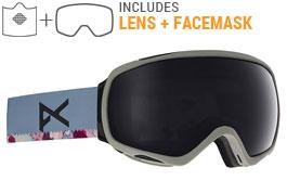 Anon Tempest MFI Ski Goggles - JTT / Sonar Smoke