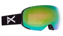 Anon M2 Ski Goggles - Black / Perceive Variable Green + Perceive Cloudy Pink