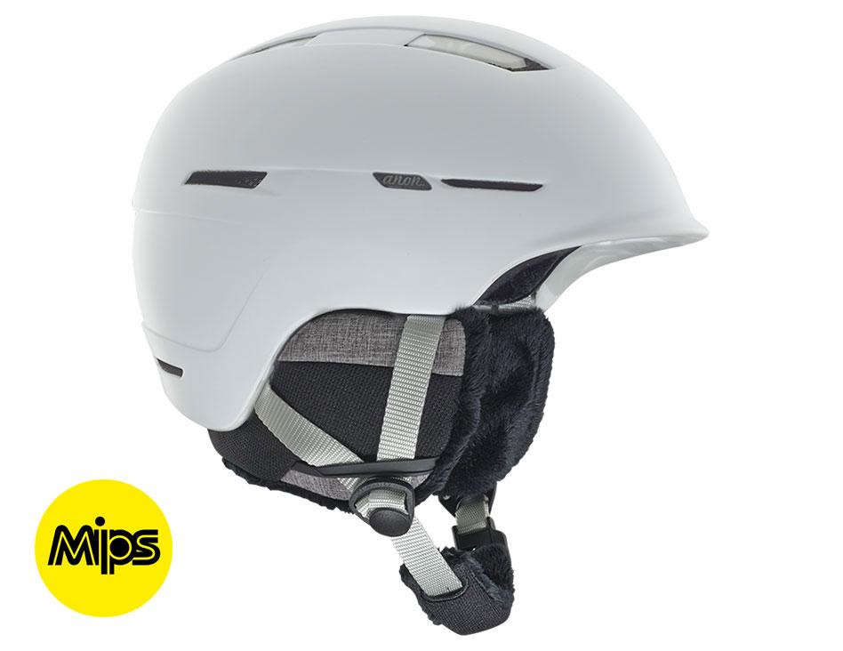 Anon Auburn MIPS Ski Helmet - Marble White