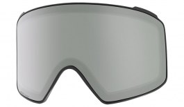 Anon M4 Cylindrical Ski Goggles Replacement Lens - Sonar Silver