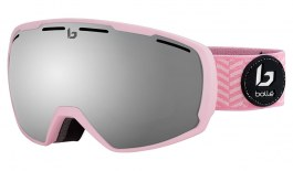 Bolle Laika Ski Goggles - Matte Pink Waves / Black Chrome
