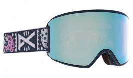 Anon WM3 MFI Ski Goggles - Noom / Perceive Variable Blue + Perceive Cloudy Pink