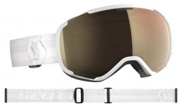Scott Faze II Ski Goggles - White	/ Light Sensitive Bronze Chrome Photochromic