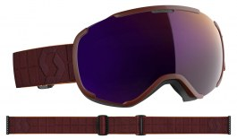 Scott Faze II Ski Goggles - Merlot Red / Enhancer Purple Chrome