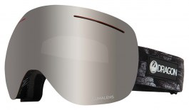 Dragon X1 Ski Goggles - Torn Birch / Lumalens Silver Ion + Lumalens Flash Blue