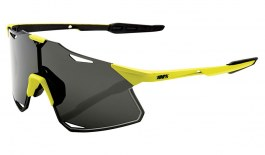 100% Hypercraft Sunglasses - Matte Banana / Smoke + Clear