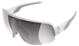 POC Aim Sunglasses - Transparent Crystal / Clarity Road Violet with Silver Mirror