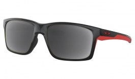 Oakley Mainlink XL Prescription Sunglasses - Polished Black (Anodised Red Icon)