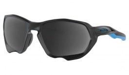 Oakley Plazma Prescription Sunglasses - Matte Black & Blue