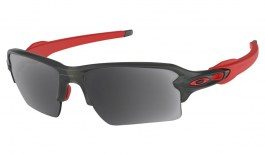 Oakley Flak 2.0 XL Prescription Sunglasses - Matte Grey Smoke