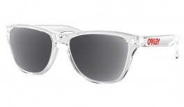 Oakley Frogskins XS Prescription Sunglasses - Polished Clear (Red Icon)