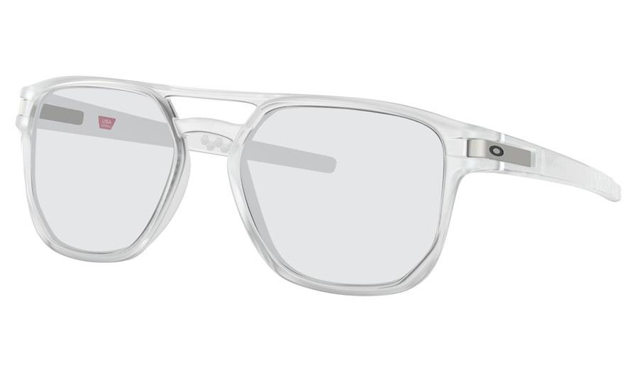 be946a5978 Oakley Latch Beta Prescription Sunglasses - Matte Clear - RxSport